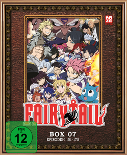 Fairy Tail – TV-Serie – Blu-ray Box 7 (Episoden 151-175) (3 Blu-rays) von Ishihira,  Shinji