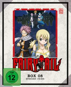 Fairy Tail – TV-Serie – Blu-ray-Box 8 (Episoden 176-203) (3 Blu-rays) von Ishihira,  Shinji