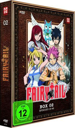 Fairy Tail – TV-Serie – Box 2 (Episoden 25-48) (4 DVDs) von Ishihira,  Shinji