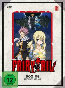 Fairy Tail – TV-Serie – DVD-Box 8 (Episoden 176-203) (4 DVDs) von Ishihira,  Shinji