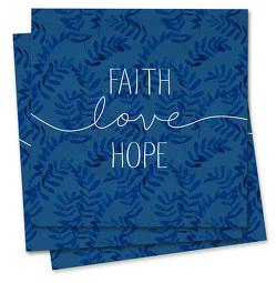 Faith-Love-Hope – Servietten