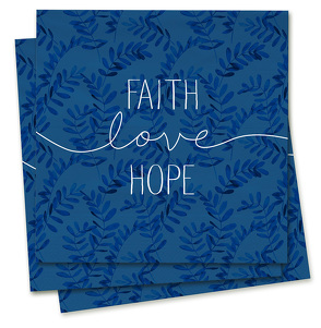 Faith-Love-Hope – Servietten