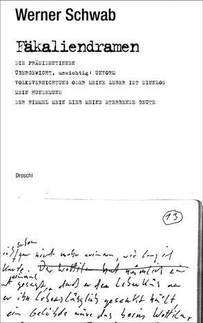 Fäkaliendramen von Schödel,  Helmut, Schwab,  Werner