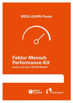Faktor Mensch Performance-Kit – Analyse mit dem CEESAR-Modell von Marx,  Daniel, MEDI-LEARN Verlag GbR