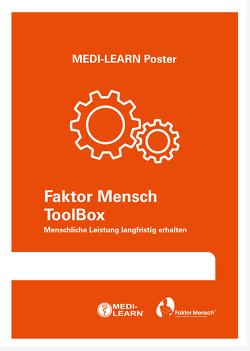 Faktor Mensch Toolbox – Menschliche Leistung langfristig erhalten von Marx,  Daniel, MEDI-LEARN Verlag GbR