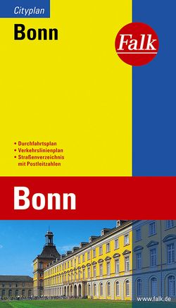 Falk Cityplan Bonn 1:20 000