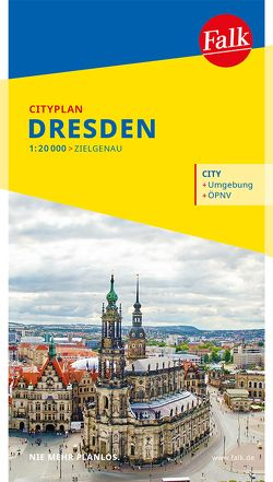 Falk Cityplan Dresden 1:20 000