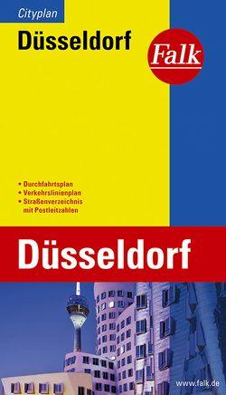 Falk Cityplan Düsseldorf 1:20 000