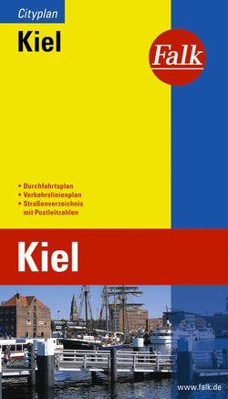 Falk Cityplan Kiel 1:17 500