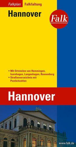 Falk Falkplan Falkfaltung Hannover 1:20 000
