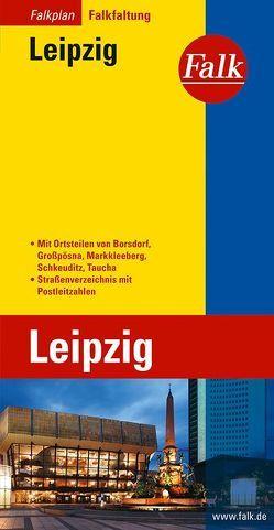 Falk Falkplan Falkfaltung Leipzig 1:22 500