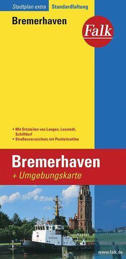 Falk Stadtplan Extra Standardfaltung Bremerhaven 1:19 000