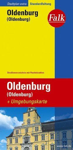 Falk Stadtplan Extra Standardfaltung Oldenburg (Oldenburg) 1:17 500