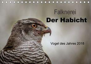 Falknerei Der Habicht (Tischkalender 2018 DIN A5 quer) von Brandt,  Tanja
