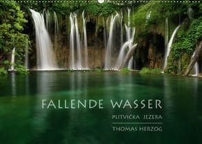 FALLENDE WASSER (Wandkalender 2018 DIN A2 quer) von Herzog,  Thomas, www.bild-erzaehler.com