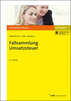 Fallsammlung Umsatzsteuer von Walkenhorst,  Ralf