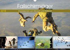 Fallschirmjäger 2018. Impressionen von Mensch und Material (Wandkalender 2018 DIN A3 quer) von Lehmann (Hrsg.),  Steffani