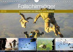 Fallschirmjäger 2019. Impressionen von Mensch und Material (Wandkalender 2019 DIN A4 quer)