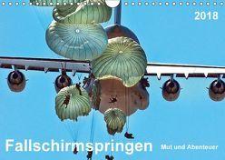 Fallschirmspringen – Mut und Abenteuer (Wandkalender 2018 DIN A4 quer) von Roder,  Peter