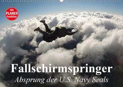 Fallschirmspringer. Absprung der U.S. Navy Seals (Wandkalender 2021 DIN A2 quer) von Stanzer,  Elisabeth