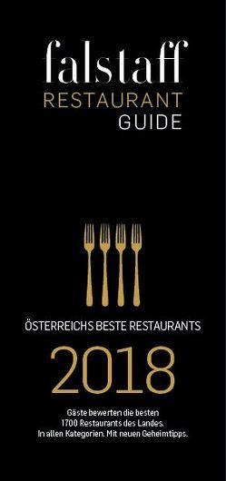 Falstaff Restaurantguide 2018 von Rosam,  Wolfgang M.