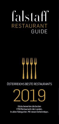 Falstaff Restaurantguide 2019 von Rosam,  Wolfgang M.