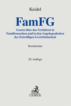 FamFG von Dimmler,  Jörg, Engelhardt,  Helmut, Giers,  Michael, Goebel,  Alfred, Heinemann,  Jörn, Keidel,  Theodor, Meyer-Holz,  Ulrich, Sternal,  Werner, Weber,  Albrecht, Zimmermann,  Walter