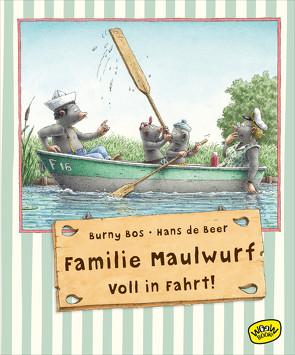 Familie Maulwurf. Voll in Fahrt! von Bos, Burny, de Beer, Hans, Fiedler-Tresp, Sonja