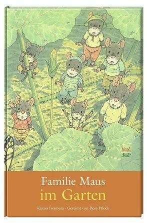 Familie Maus im Garten von Iwamura,  Kazuo, Pflock,  Rose