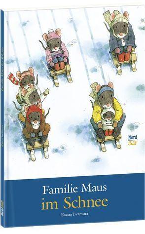 Familie Maus im Schnee von Iwamura,  Kazuo, Pflock,  Rose