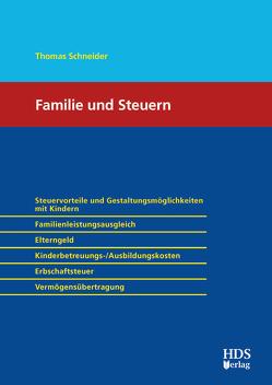 Familie und Steuern von Schneider,  Thomas