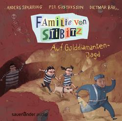 Familie von Stibitz – Auf Golddiamanten-Jagd von Bär,  Dietmar, Buchinger,  Friederike, Gustavsson,  Per, Sparring,  Anders