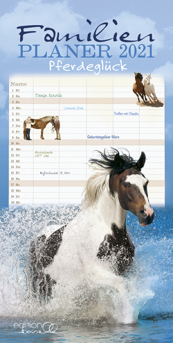 Familien Planer Pferd 2021 von Gabriele,  Boiselle