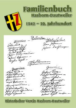 Familienbuch Hasborn-Dautweiler von Historischer Verein Hasborn - Dautweiler