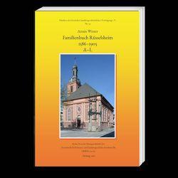 Familienbuch Rüsselsheim 1586–1905 von Winter,  Armin