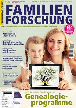 Familienforschung 2019/2020