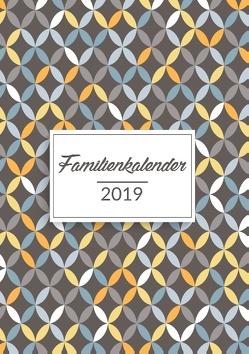 Familienkalender 2019 mit 6 Spalten von Wando,  Linda