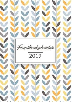 Familienkalender 2019 – Planen, organisieren und notieren von Wando,  Linda