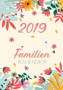 Familienkalender 2019 – Terminplaner und Kalender für bis zu 6 Personen – Familienplaner und Timer für das neue Jahr 2019 von Planini,  Termini