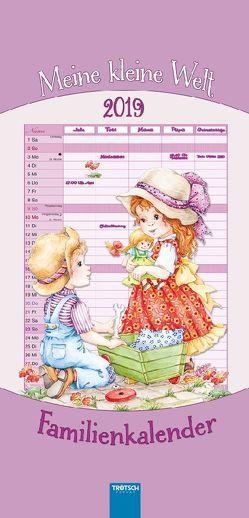 Familienkalender Meine kleine Welt 2018 Familienplaner Notizkalender Terminkalender Terminplaner