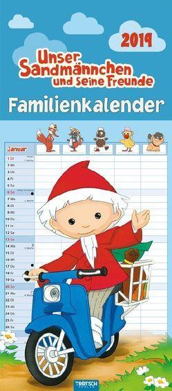 Familienkalender Unser Sandmännchen 2019 Familienplaner Terminkalender Terminplaner mit 5 Spalten