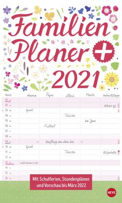 Familienplaner plus Tasche Kalender 2021 von Heye
