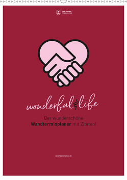 Familienplaner wonderful&life – Der wunderschöne Wandterminplaner mit Zitaten (Wandkalender 2020 DIN A2 hoch) von Hafenprinzessin,  Die