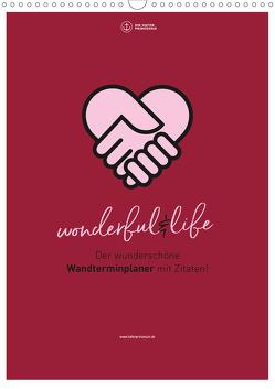 Familienplaner wonderful&life – Der wunderschöne Wandterminplaner mit Zitaten (Wandkalender 2020 DIN A3 hoch) von Hafenprinzessin,  Die