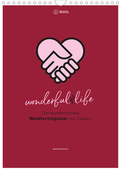Familienplaner wonderful&life – Der wunderschöne Wandterminplaner mit Zitaten (Wandkalender 2020 DIN A4 hoch) von Hafenprinzessin,  Die