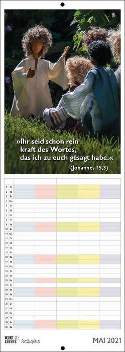 Familienplaner Wort des Lebens 2021 von Liesenfeld,  Stefan, Lupfer,  Anja, Teschendorf,  Susanne