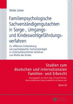 Familienpsychologische Sachverständigengutachten in Sorge-, Umgangs- und Kindeswohlgefährdungsverfahren von Löwer,  Meike