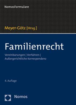 Familienrecht von Meyer-Götz,  Karin