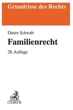 Familienrecht von Schwab,  Dieter