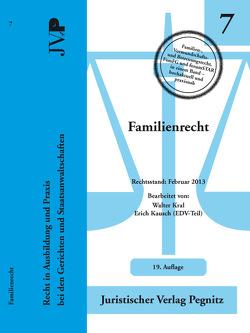 Familienrecht von Kral,  Walter, Thiel,  Silvia